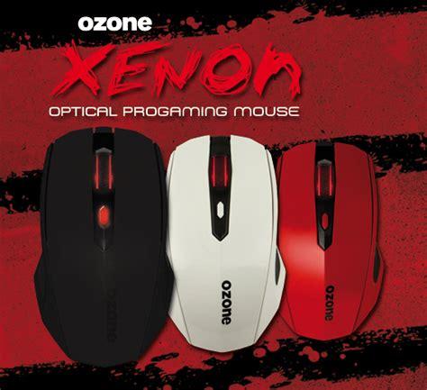 Ozone Radon 3k 3 K Advanced Laser Gaming Mouse ozone announces xenon gaming mouse