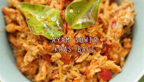 santapan khas bali homemade  halal resep masakan