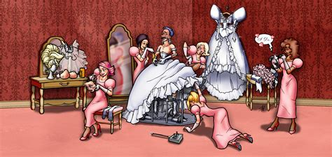 forced feminization beauty salon art remote bride by dovsherman on deviantart
