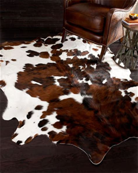 Cow Print Upholstery Fabric Cruelty Free Floor Budget Friendly Diy Faux Cowhide Rug