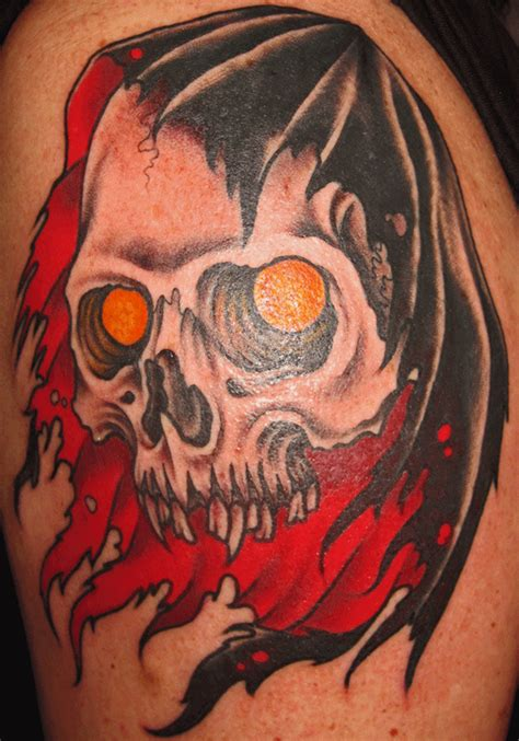 traditional grim reaper tattoo 29 cool grim reaper designs