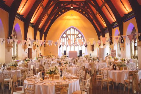 Wedding Home Decoration clifton college hall wedding decoration bunting and gold