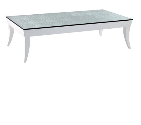 dreamfurniture modern glass square coffee table