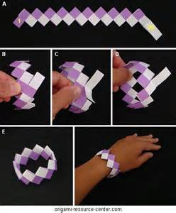 Gum Wrapper Origami - gum wrapper chain variation that uses less paper