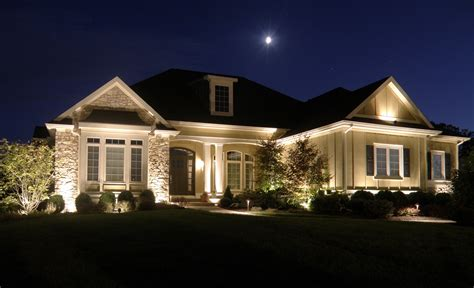 outside security lighting for homes how landscape lighting can add home security ntx outdoor