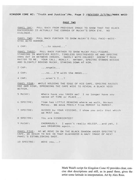 play script template graphic novel script format tim stout