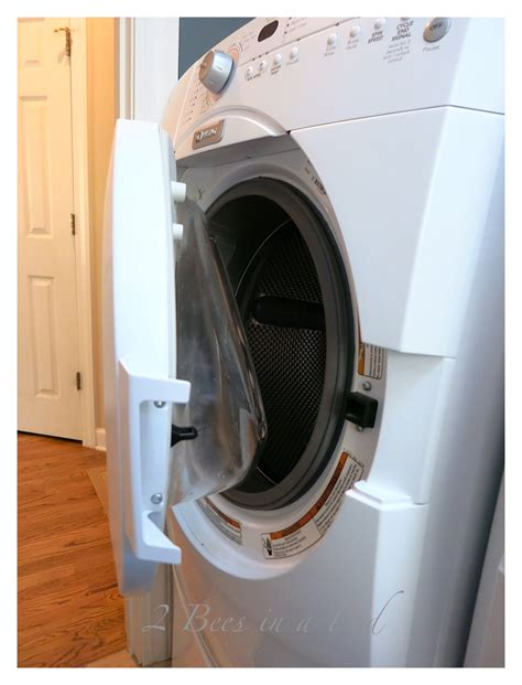 how to clean your front loading washing machine and get