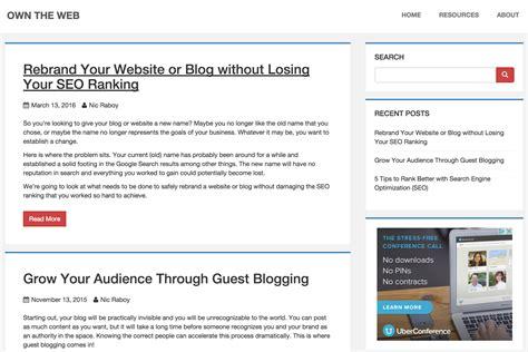 hugo website themes hugo phlat theme hugo themes