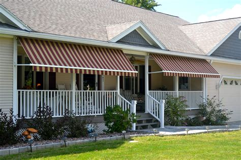 metal porch awning front porch awnings security and design style in one clap