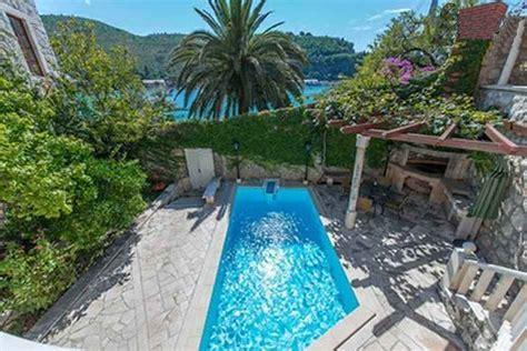 immobilienkauf haus dubrovnik dalmatien villa mit pool und bootsanleger