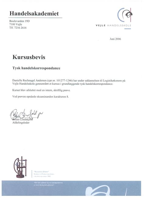 Letter Of Recommendation In German home cv statements