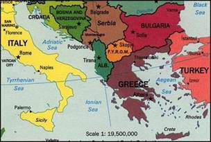 South Europe Map by Southern Europe Map Images