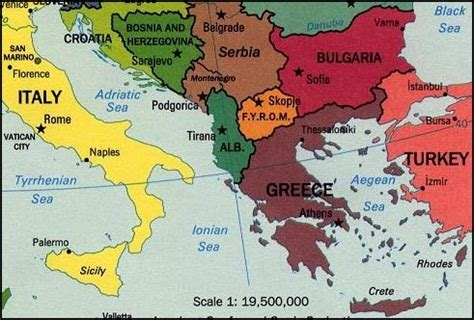 southern europe map greece god s geography