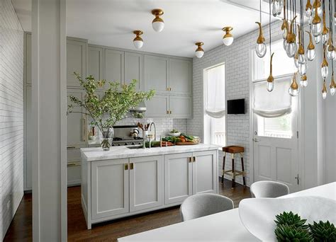 white cabinets with antique brass hardware grey cabinets brass hardware design decor photos