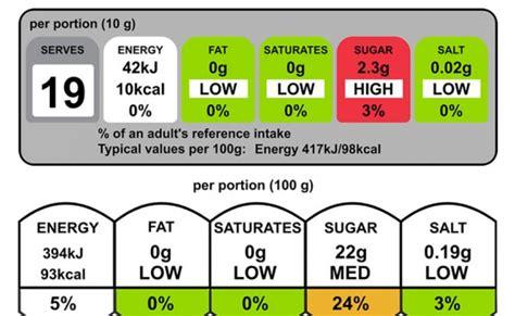 food label design uk new uk front of pack labelling standard nutritional