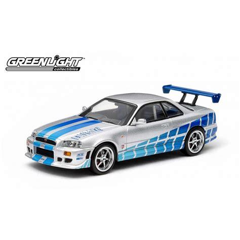 Cilla Garage Hotwheels Fast Furious Nissan Skyline 1999 nissan skyline gt r fast furious diecast