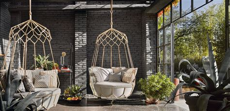 swinging garden sofa 10 sunroom seating ideas from the comfy to the creative