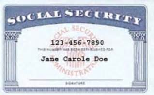 Editable Social Security Card Template Replace Your Social Security Card Writedge