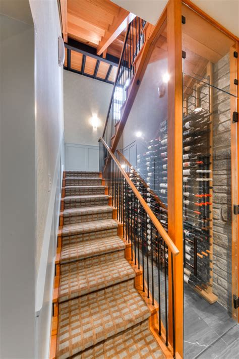 wine cellar under stairs building wine cellars with joseph curtis