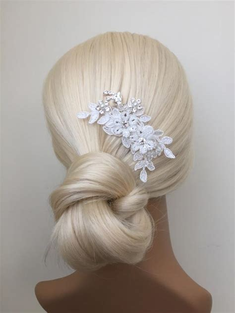 Wedding Hair Accessories Ivory by Bridal Hair Accessories Wedding Ivory Lace