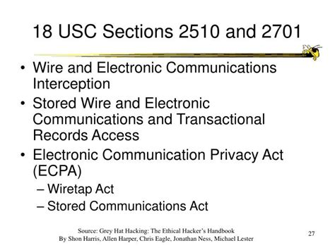 18 usc section 1030 ppt ethics of ethical hacking powerpoint presentation