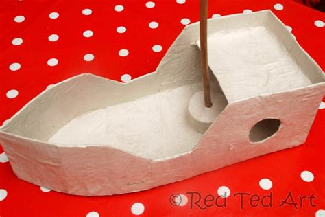 What Can You Make Out Of Paper Mache - how to make a diy pirate ship ted s