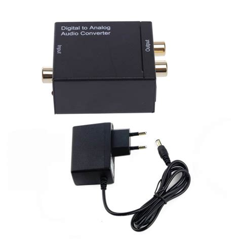 Adaptor Digital digital to analog audio converter adapter digital adaptador optic coaxial rca toslink signal to