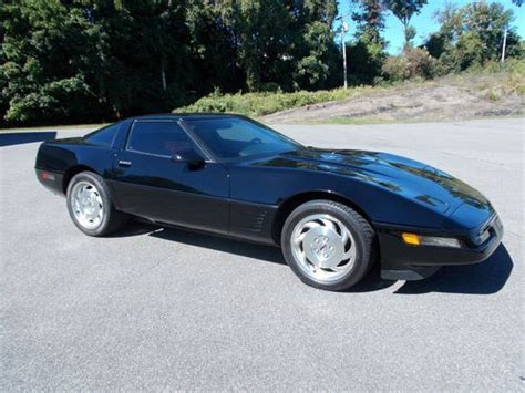 automobile air conditioning service 1995 chevrolet corvette free book repair manuals buy used 1995 corvette black sport coupe in kingston new york united states for us 13 999 00
