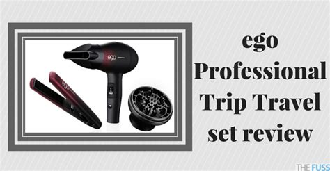 Ego Professional Hair Dryer Reviews ego trip travel set review the fuss