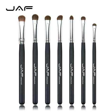 Set Of 7 Makeup Tool Set hair eye makeup brushes set professional eyeshadow