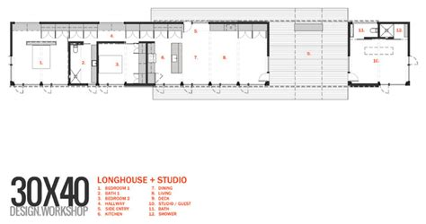 dogtrot floor plan longhouse dogtrot studio modern floor plan other metro by eric reinholdt architect