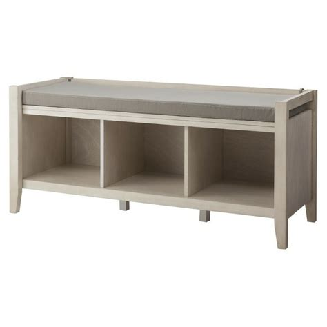 threshold storage bench threshold open storage bench chestnut