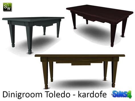 Toledo Dining Table Kardofe Dinigroom Toledo Dining Table