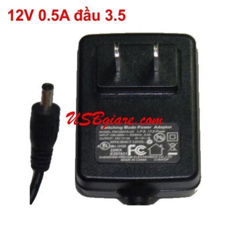 Adaptor 12v 3 5a adapter 12v 0 5a đầu 3 5 zin
