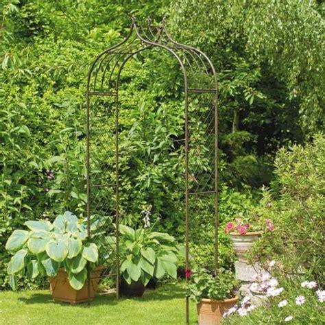 garden metal louis metal garden arch by garden selections