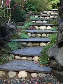 landscape design garden stairs diy home decor