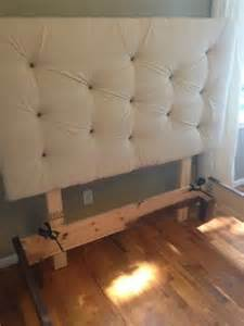 Diy Headboard And Bed Frame How To Build A Diy Upholstered Headboard Diy Tutorial