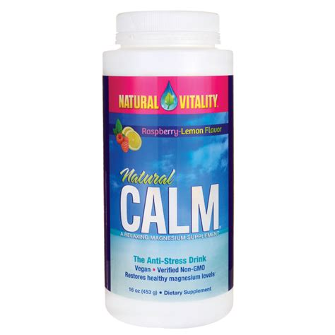 4g supplement review vitality calm raspberry lemon 16 oz 453 g
