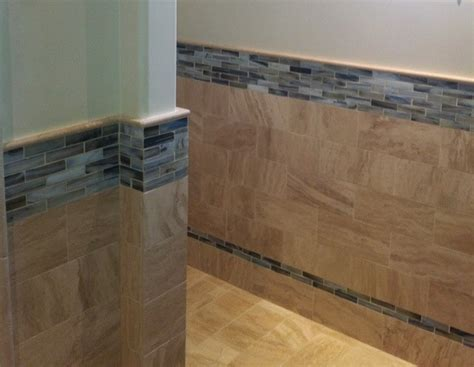 Half Wall Tiles In Living Room Authentic Durango Veracruz Vein Cut Tile Flooring And