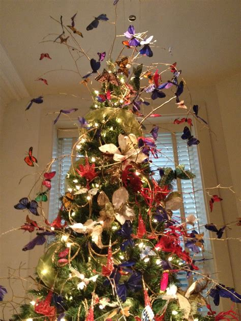 beautiful butterfly christmas tree at winterthur 12 8 12