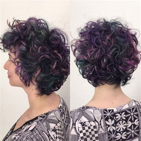 short curly hair highlight pictures 32 sexiest short curly hairstyles for women in 2018