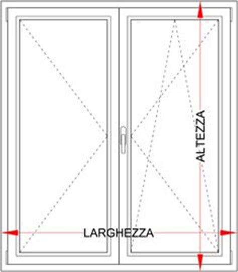 larghezza porta finestra finestra pvc 2 ante con ribalta bologna