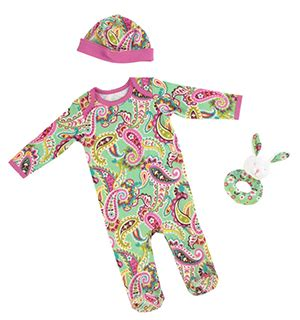 Vera bradley baby clothes amp accessories are a great addition to the brand frugal novice