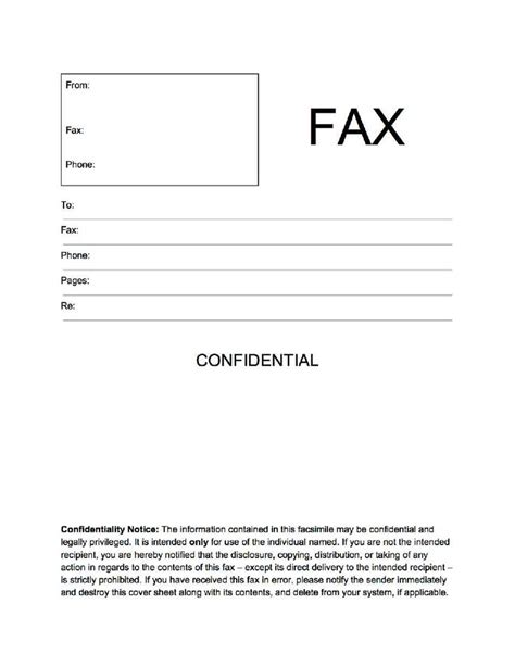 confidential cover letter 17 best images about popular fax cover sheets on