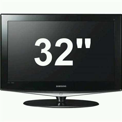 samsung le32r74bd 32 inch tv with remote and stand in southsea hshire gumtree