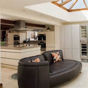 open plan kitchen living room ideal home