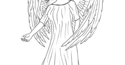 realistic angel coloring pages realistic angel coloring page drawings pinterest