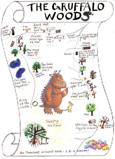 libro the storrington papers gruffalo woods http www sussexgreenliving co uk 2013 01 our treasure hunt in the gruffalo