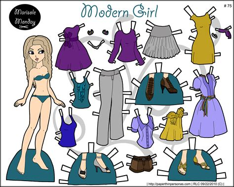 Paper Doll - marisole archives page 12 of 15 paper thin personas