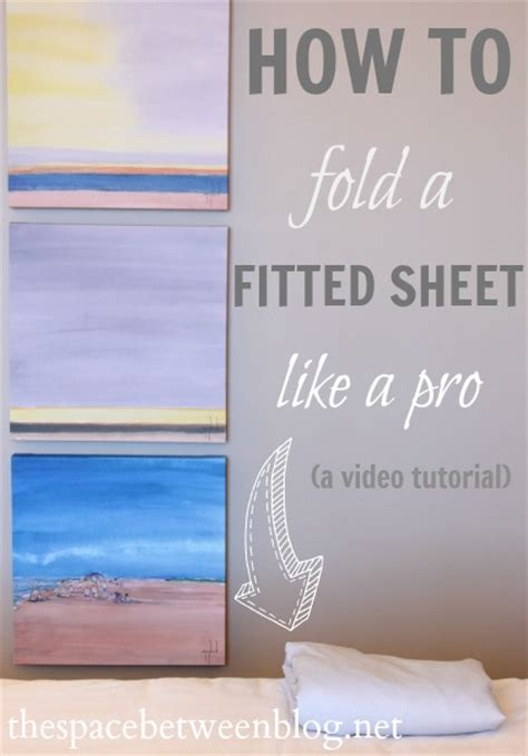 how to fold a fitted bed sheet day 22 how to fold a fitted sheet like a pro